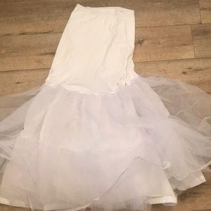 A-line Silhouette Slip for Wedding Dress